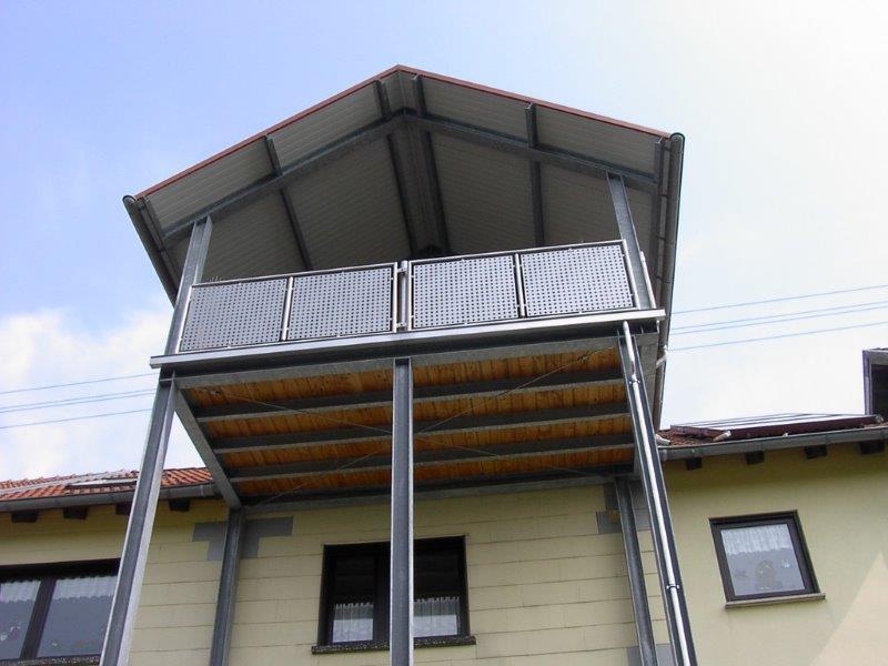 edelstahl stahl balkone und terrassen metallbau schlosserei sch fer. Black Bedroom Furniture Sets. Home Design Ideas